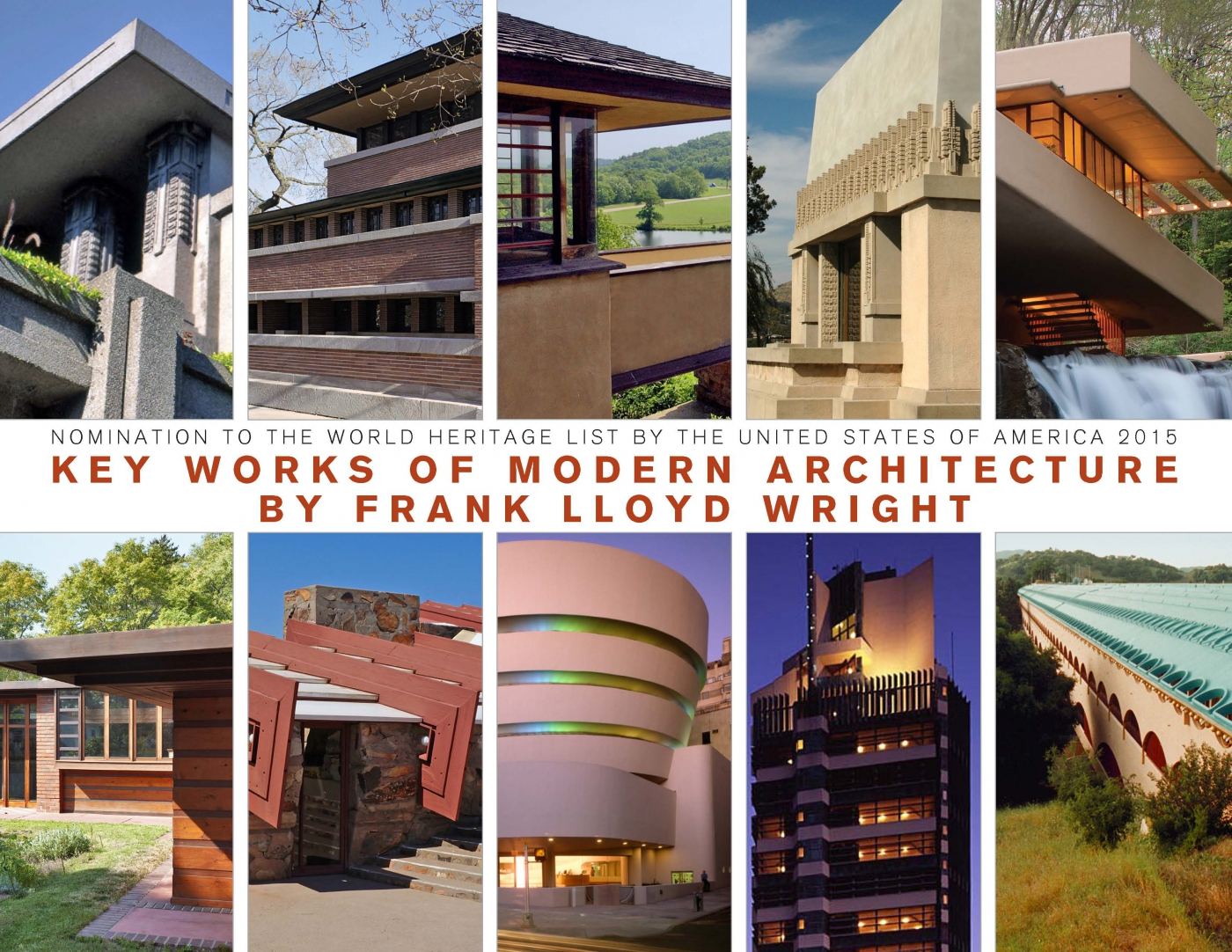 World heritage nomination revised to include eight - Frank lloyd wright architecture ...